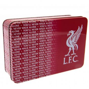Liverpool FC  Metal Supporters Tin TX